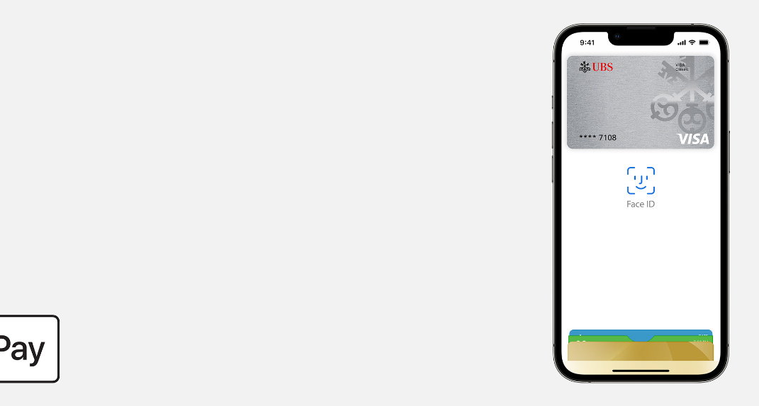 Ubs Credit And Prepaid Card With Apple Pay Ubs Switzerland
