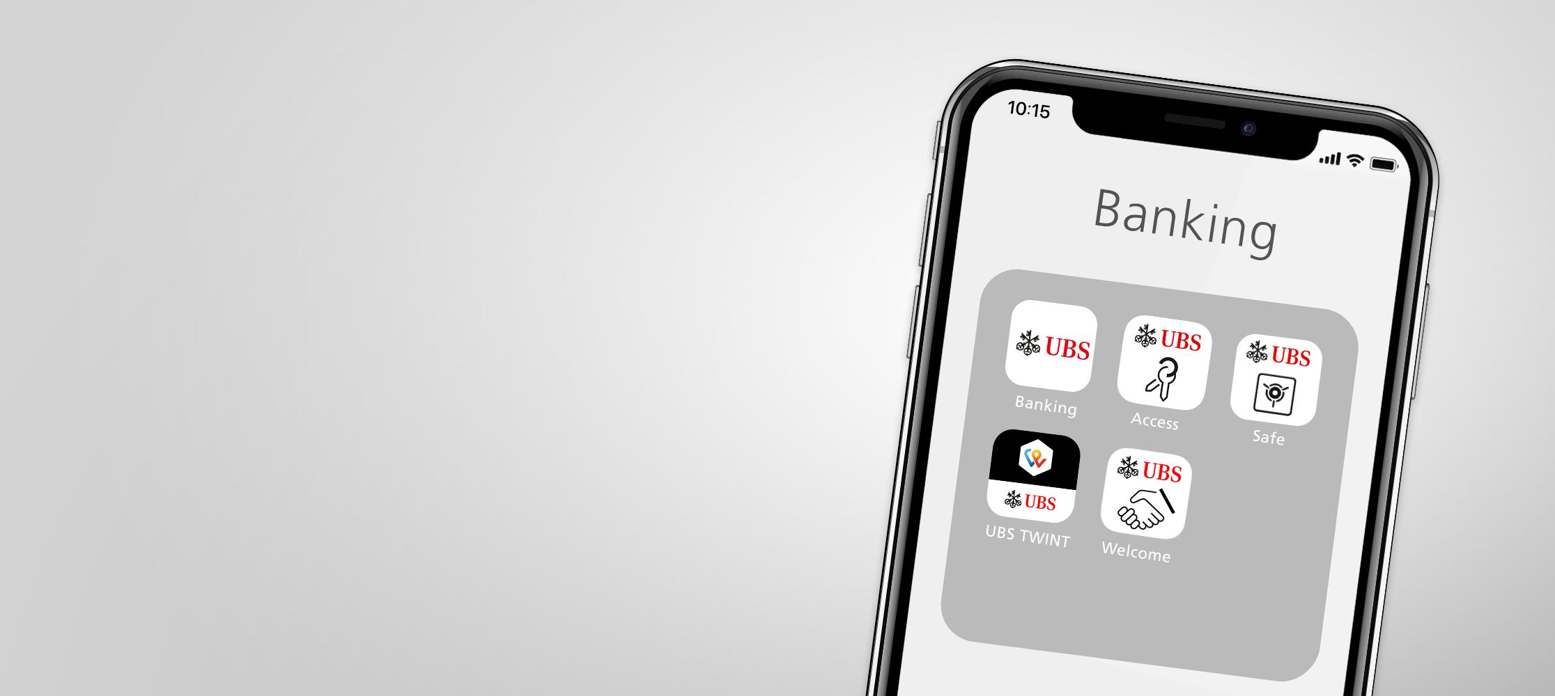 UBS Digital Banking apps | UBS Switzerland