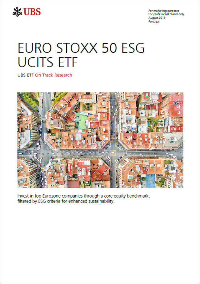 August 2019: EURO STOXX 50 ESG - sustainable core Eurozone blue-chips