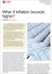 What if inflation bounces higher?